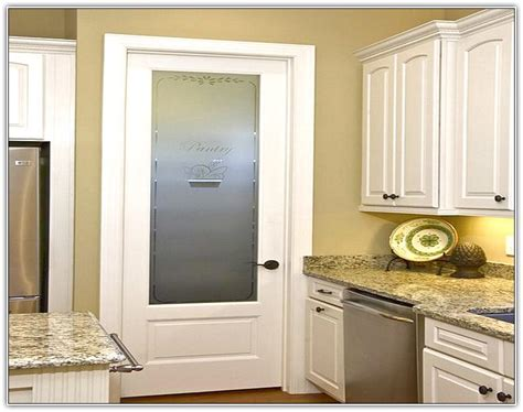 Glass Inserts For Kitchen Cabinet Doors lowes pantry doors glass home design ideas