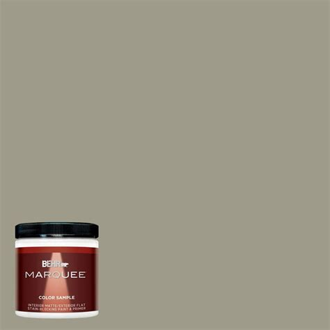 behr marquee 8 oz mq6 26 milk thistle interior exterior paint sle mq30416 the home depot