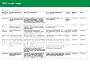 hse template safety risk assessment template eliolera