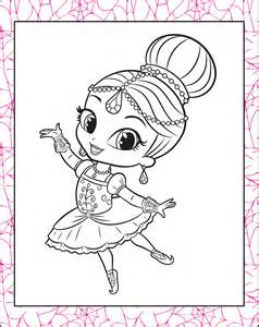 shimmer and shine coloring pages printable shimmer and shine coloring pages