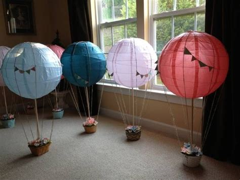 How To Make Paper Air Balloon Lantern - 76 best images about baby shower time on