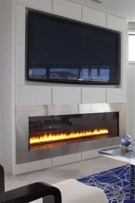 55 Inch Tv Above Fireplace by Fireplaces Tvs And Gas Fireplaces On