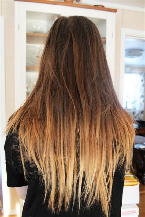 ambrey hair brown to blonde hair dip dye www pixshark com images