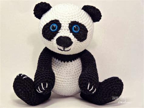 amigurumi panda smartapple creations amigurumi and crochet amigurumi panda