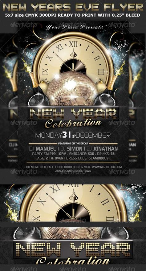 new years club events events fonts and modern on