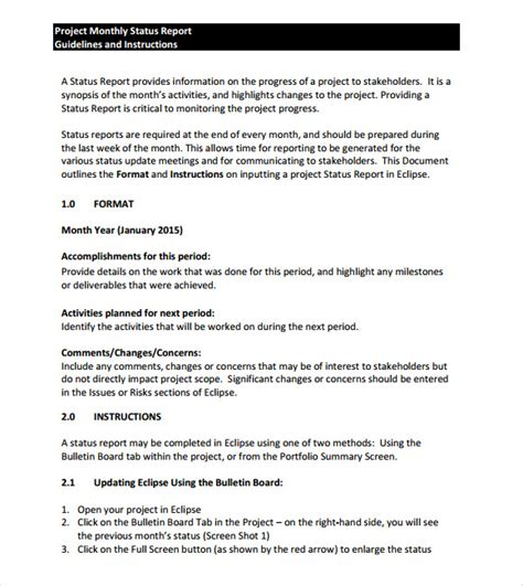 sle monthly report template 13 free documents in