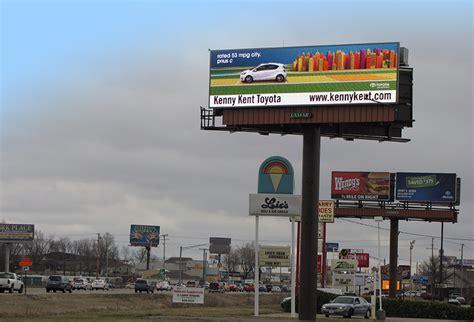 Kenny Kent Toyota Evansville In Lamar Advertising Evansville Creative Kenny Kent Toyota