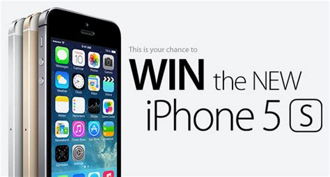 Win Iphone 5s Giveaway - geeksays is giving away an iphone 5s