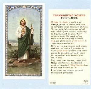 saint thanksgiving sacco religious items