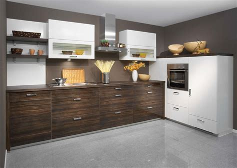 Glossy Cabinets by High Gloss Kitchen Designs For Modern House