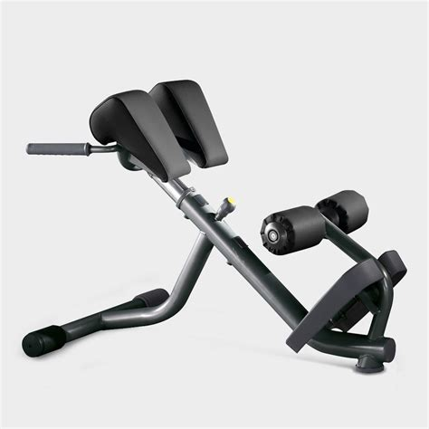 element lower back bench bench extend technogym