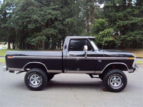 short bed truck cer craigslist 1976 ford f100 short bed