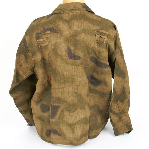 pattern linen jacket german wwii wehrmacht m45 linen sumpftarn pattern jacket