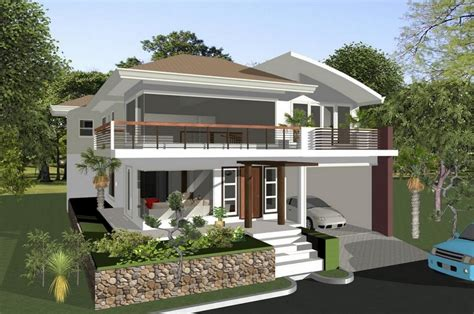 Modern Minimalist Natural Design Of The Design House Small House Plans That Has Stone