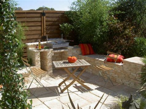 photo cuisine exterieure jardin des cuisines d 233 t 233 sur mesure pour votre jardin
