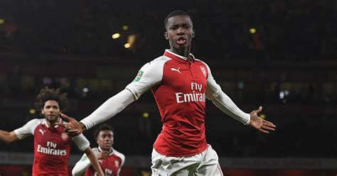 arsenal nketiah eddie nketiah bails out arsenal and gives arsene wenger