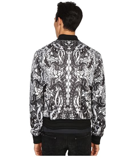 Cavali Batik just cavalli royal batik bomber jacket in for lyst
