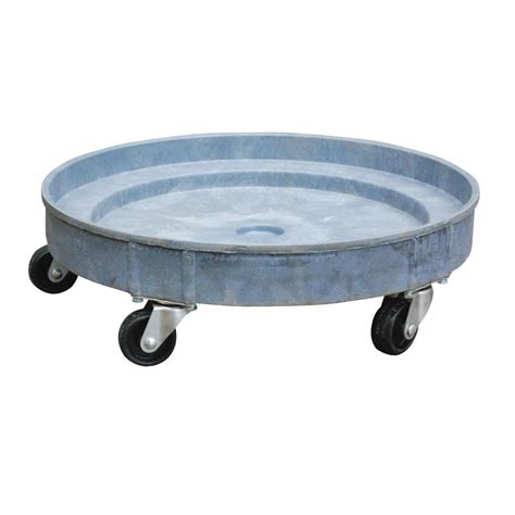 vestil 30 55 gal multi level plastic drum dolly drum pdd