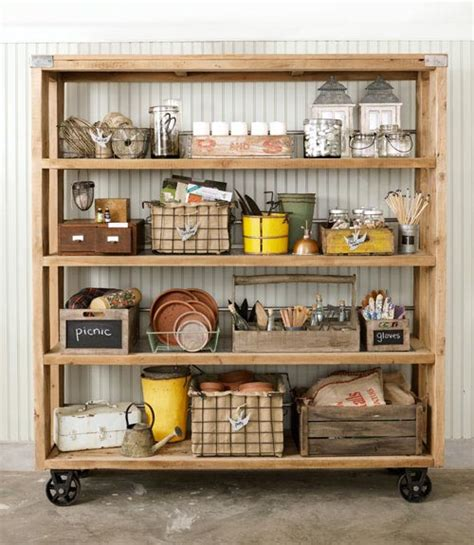 Shed Garage Storage Ideas Industrial Decor Brings Treasures From The Past To Today S