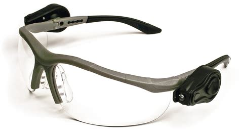 3m led light 3m light vision2 led safety glasses with clear anti fog