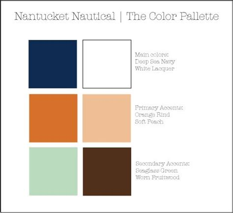 nautical colors nantucket nautical colors by the sea designs pinterest