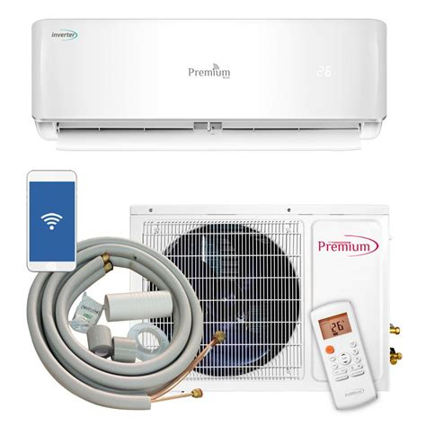 ductless mini split air conditioner premium 12 000 btu 1 ton ductless mini split air