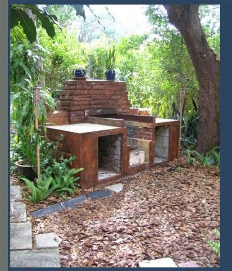 backyard brick bbq brick bbq diy brick bbq grill ideas pinterest bricks and brick bbq