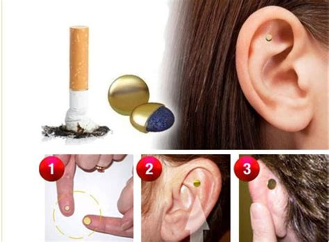Gelang Kesehatan Magnetic Gold Bio G Garden quit acupressure care auricular magnet therapy zero smoke chic s ebay