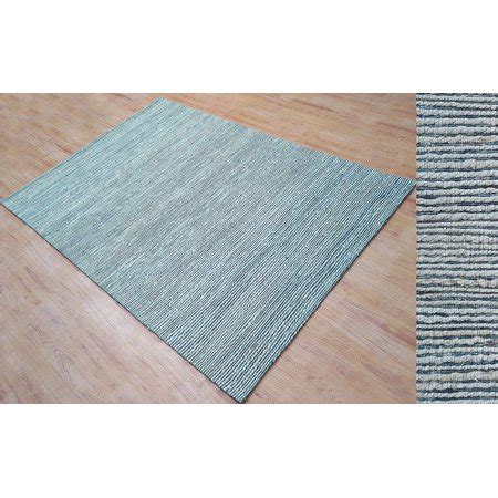 hand tufted light silver gray jute viscose  ft area