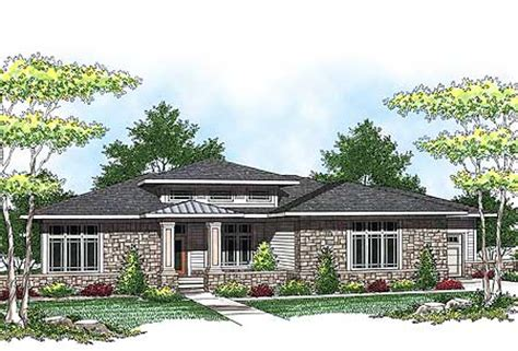 prairie style ranch homes plan w89684ah prairie style ranch home plan e