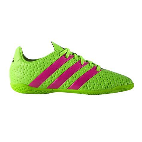 imagenes de zapatos adidas futbol sala zapatillas de f 250 tbol sala de ni 241 os ace 16 4 in adidas