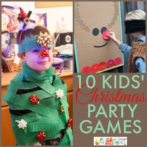 christmas party games kids party games party games