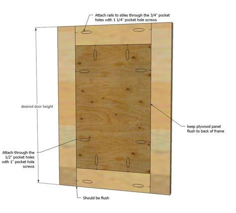 build simple shaker cabinet doors  kreg jig