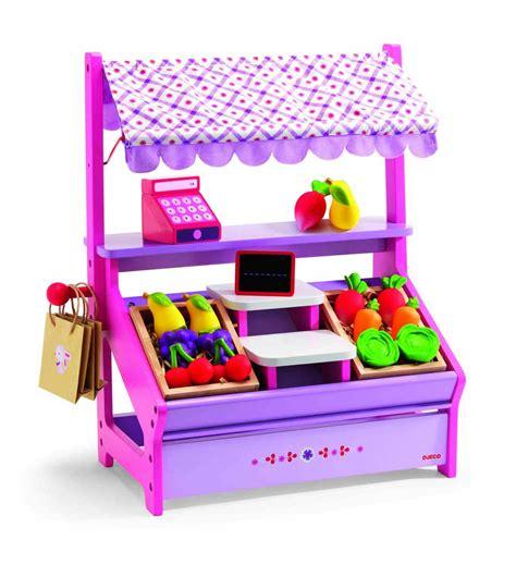 Hadiah Mainan Anak Shop Market Supermarket Play Set Pink Chair 66 djeco drewniany sklepik z owocami i warzywami zabawki mamissima zabawki akcesoria dla
