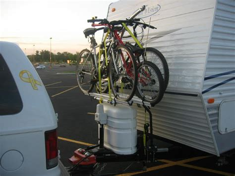 Bike Rack For Travel Trailer by Road Trip On House On Wheels Cargo Trailer