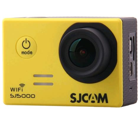 Sjcam Hd sjcam sj5000 wifi hd sports yellow expansys australia