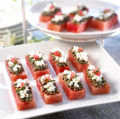 canapes for watermelon board watermelon canapes