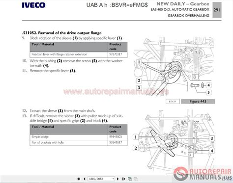 iveco daily 03 2014 repair manual auto repair manual forum heavy equipment forums download