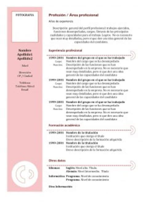 Plantillas De Curriculum Vitae Academico Cv Anticronologico Modelli Modelli Di Curriculum Vitae