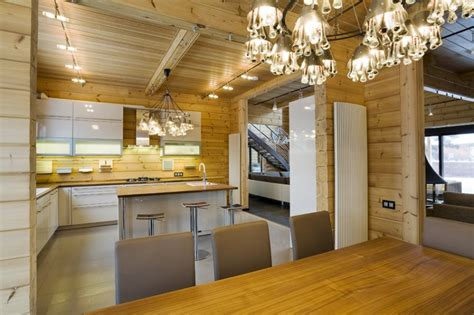Modern Log Home Interiors design of a finnish luxury log home design log house finland