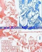 Buku Silat Koo Ping Hoo Kisah Si Pedang Kilat kisah para pendekar pulau es silat kho ping hoo