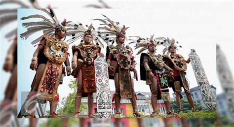 Baju Adat Orang Dayak pakaian adat kalimantan barat terlengkap beserta penjelasan dan sejarahnya