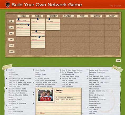 game design network design work tivo fall tv ryan brill