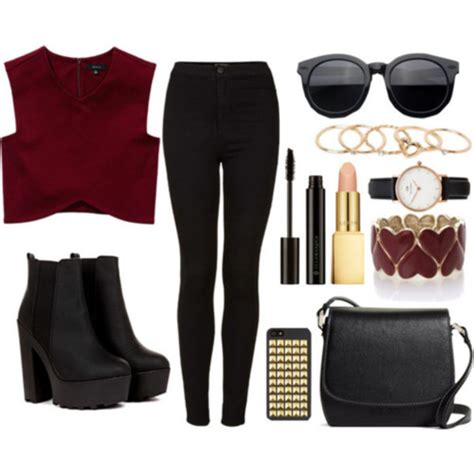 With Polyvore by Shoes Boots Black Shoes Polyvore