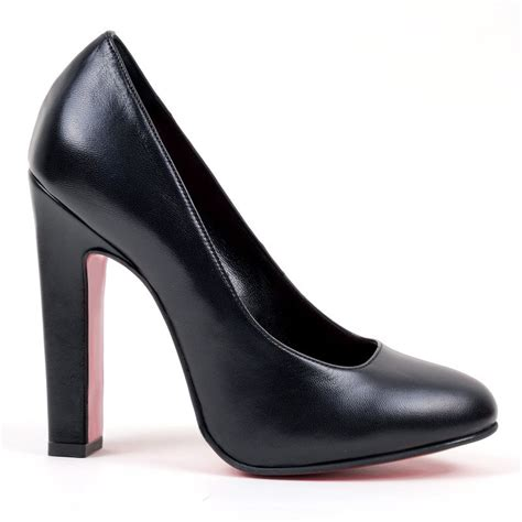 pumps 2880 1820 vitello nero high heels shop by fuss