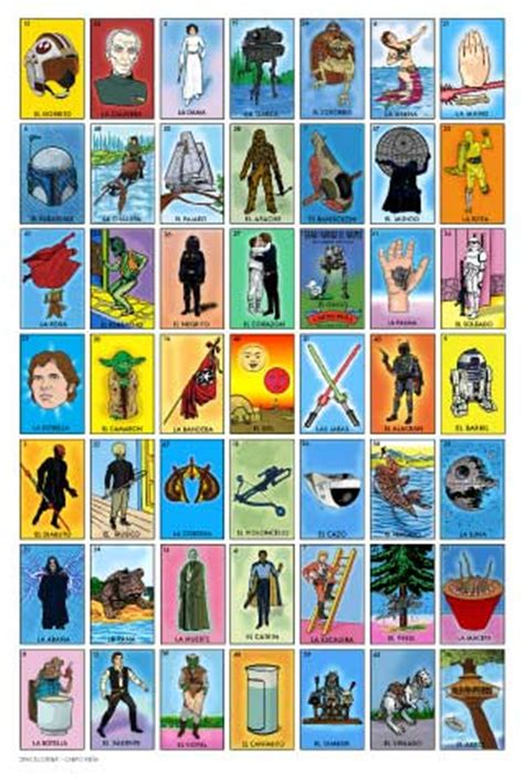 how to make loteria cards space loteria wars mexican bingo by chepo pena is