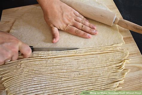 How To Make Handmade Noodles - how to make noodles from wheat flour 8 steps with pictures