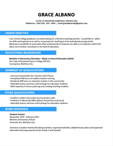 best two page resume format free cute how to format a two page