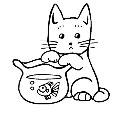 free coloring pages of baby baby kittens