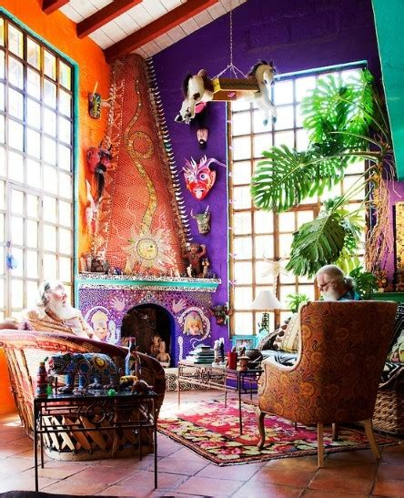 bohemian home design folk style home decor